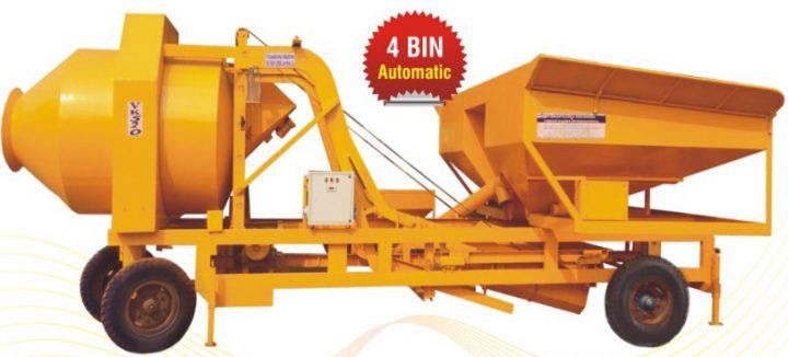 Mobile Concrete Batching Plant 5BIN