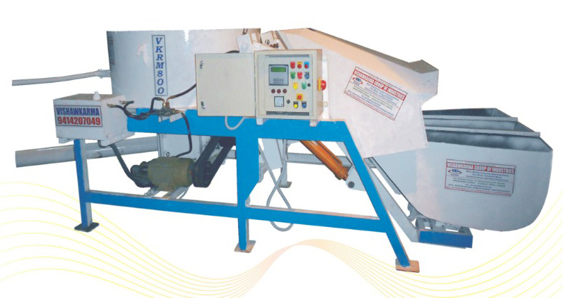 Pan mixer with digital weight batcher
