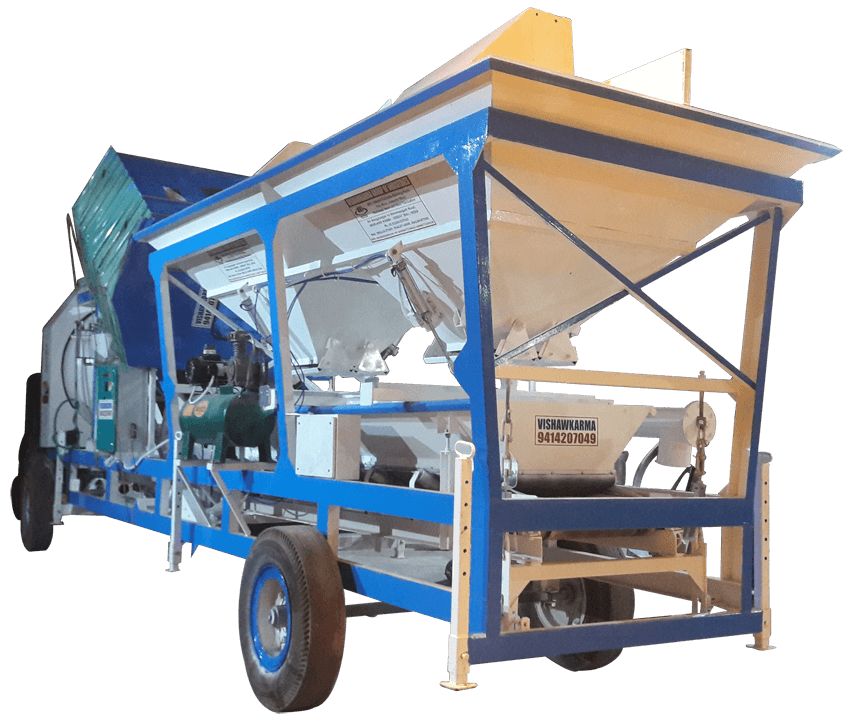 Mobile Concrete Batching Plant VK Series