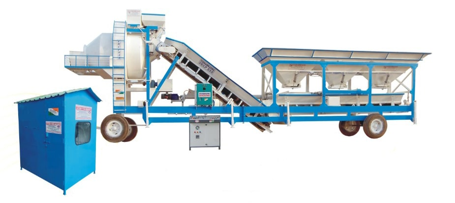 Mobile or Stationery Concrete Batching Plant